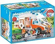 PLAYMOBIL 救护车,带有闪光灯