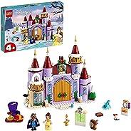 LEGO 乐高 迪士尼公主 美女与野兽贝儿的冬季城堡庆典 43180