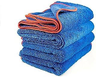 White Diamond Detail Products 超厚双面超细纤维干燥毛巾,大表面 16 X 24 英寸,2 条毛巾 (2)