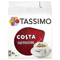 Tassimo Costa 卡布奇諾咖啡(5包,共80粒,40份)