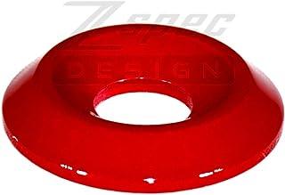 ZSPEC 设计挡泥板/保险杠/引擎盖锁紧固件套件适用于 '87-93 福特野马狐狸车身 Gloss Red 00843612175687