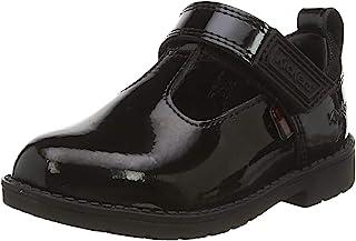 Kickers Lachly T Bar 女童校服鞋