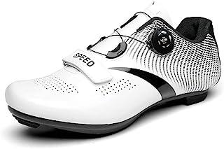 女式 Peloton 自行车鞋 Delta Cleat 自行车鞋 女孩 室内运动 旋转鞋 骑马鞋 Compat Spd Spd-SL 003_白色 10.5