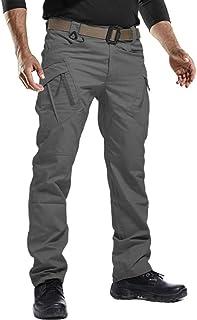 FEDTOSING 男式休闲工装裤户外军裤*战术裤男式,带 9 个口袋