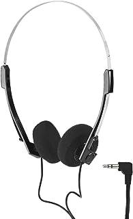 Monacor 1.2m 立体声耳机带 3.5mm 插头(100mW,20-20000Hz)