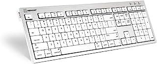 LogicKeyboard SKB-CWMU-FR 键盘,ALBA FR(Apple Mac)银色/白色/黑色