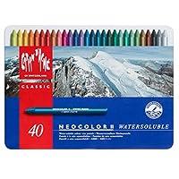 米朗什达经典·Neocolor II 水溶性蜡笔,40种颜料