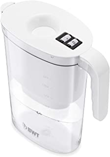 BWT 815480桌上型净水器Vida 2,6升,滤芯为镁矿化剂,可过滤120升自来水 白色 25x11x27.3 cm