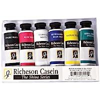 Jack Richeson 37-Ml Artist Casein Colors, Set of 6