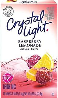 水晶灯 - 树莓柠檬味 - 10 个盒装(2 个装)