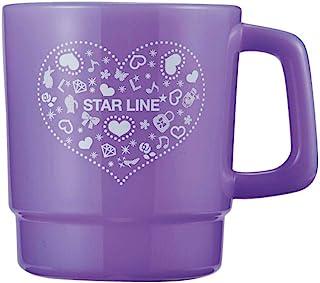 KUTSUWA 星线 塑料水杯 通色 紫色 ST117PU