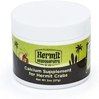Flukers 爱米特螃蟹钙补充剂,蜂蜜粉,2盎司(约56.7克)