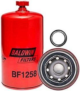 Baldwin Filters BALBF1258 重型燃油滤清器(7-7/16 x 7-7/16 英寸)