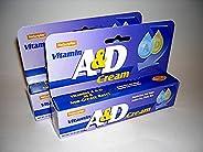 2X Natureplex Vitamin A & D Cream 1.5 oz Diaper Rash Cuts Burns Chapped