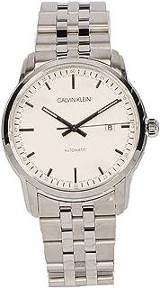 Calvin Klein 男士模拟自动手表不锈钢表链 K5S3414X