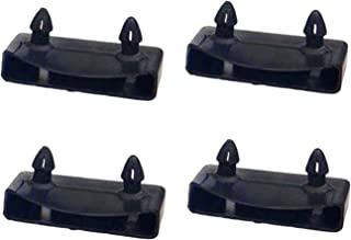 NANSHINE 20 件 55.5-57 毫米替换床板支架套件捆绑塑料端盖支架