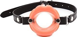 橙色透气口球硅胶嘴塞女式舞台道具