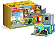 Magformers Town Bank 套装