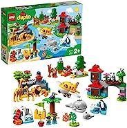 LEGO 乐高 Duplo 得宝系列 世界一周探险 10907 *玩具 积木玩具 女孩 男孩