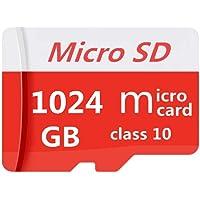 Micro SDXC 卡 1TB 高速 Class 10 TF 存储卡 Micro SD 卡带适配器 (1TB)