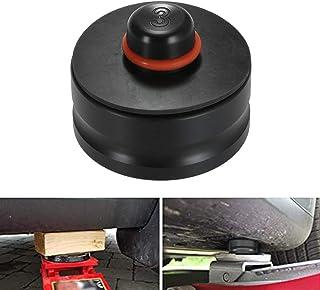 Qook Jack 升降点垫适配器橡胶,适用于所有 Tesla 型号 3 型号 - *升降的车辆 - 保护汽车插孔免受损坏特斯拉电池(黑色,1 件)