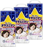 【Amazon.co.jp 限定】【拉裤大以上】Oyasuman 女童夜用尿布(13~28kg) 66片(22片×3)【盒装】