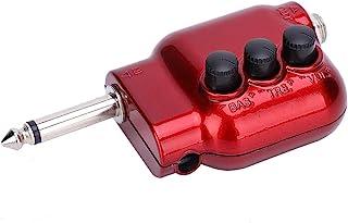 6.35 毫米吉他放大器 6.35 毫米输出电吉他放大器 插入式 USB 可充电口袋吉他低音放大器和播放音频扬声器到吉他扬声器扩音器