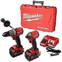 Milwaukee 鋰離子無繩無刷錘鉆套裝 2997-22