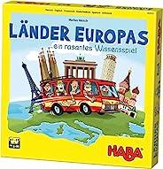 HABA 欧陆之国 304532 趣味家庭欧洲旅行主题桌游 适用于8-99岁的2-4位玩家的知识游戏