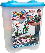 美国ZOOB 骨架结构棒250粒拼插拼装积木 益智教育儿童玩具
