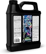 Brightwell Aquatics MicroBacter Start XLM – 活*罐起动器快速在新的海洋和珊瑚礁水族箱中建立生物过滤