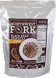 NorthWest Fork 黑色豆叉小牛(不含麸质,非转*,科什尔,素食)15 个书包 - 10 年以上保质期