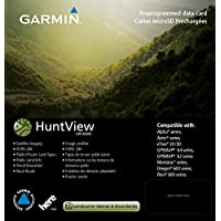 Garmin Huntview 地图卡010-12522-01 Texas-West