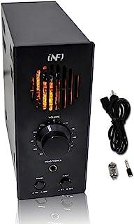 INFI 音频管放大器耳机放大器带蓝牙家庭影院立体声接收器桌面 60W 等级 AB 混合集成功放,适用于家庭音频扬声器