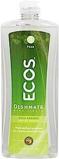 Earth Friendly - ECOS Dishmate盘液体梨 - 25盎司