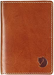 Fjällräven 瑞典北极狐 Passport Cover Wallets and Small Bags,Leather Cognac,均码