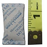 Dry-Packs 1/2gm Tyvek Silica Gel Packet, Pack of 50