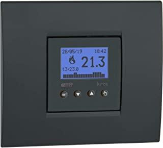 VEMER VE780000 KIROS 周定时器 暗装 小巧 电源 230 V 白色 或煤灰色