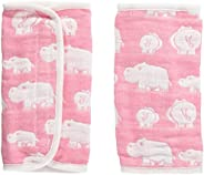 elephant infant 花朵巾 粉色