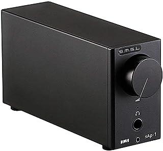 Dilvpoetry SMSL SAP-1便携式桌面耳机放大器,适用于手机PC,6.35毫米输出3.5毫米转换器