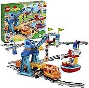 LEGO 乐高 Duplo 货运火车 儿童玩具 10875,推走式动力车