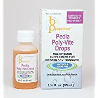 3 pack of Pedia Poly-Vite Drops 50 mL
