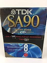 TDK SA90 8 包
