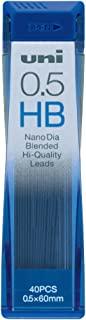 MITSUBISHI 三菱铅笔 自动铅芯 Nano Dia 0.5 HB 10个 U05202NDHB