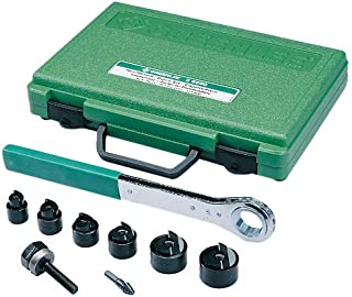 Greenlee 36690 手动 Slug-Buster Knockout 冲孔套件,公制,PG-9 到 30.5mm