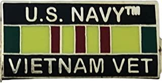 美国*越南退伍军人丝带 2.54 厘米翻领别针