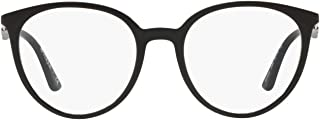 Ray-Ban 雷朋 0VO5232 女士眼镜架,黑色(顶部黑色/透明),50