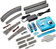 KATO N规矩 M2 带让车线路无尽头 基础套装 Master 2 20-853 铁路模型 轨道套装