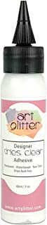 Art Institute Glitter Designer Dries 透明胶粘剂,2 盎司 Single Pack DDCA