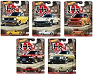 "Hotwheels Car culture 汽车文化 2020 Mix2 混装10台 ""Japan Historics3"" 日产Skyline Sylvia SunnyTruck HONDA本田 City Tu"
